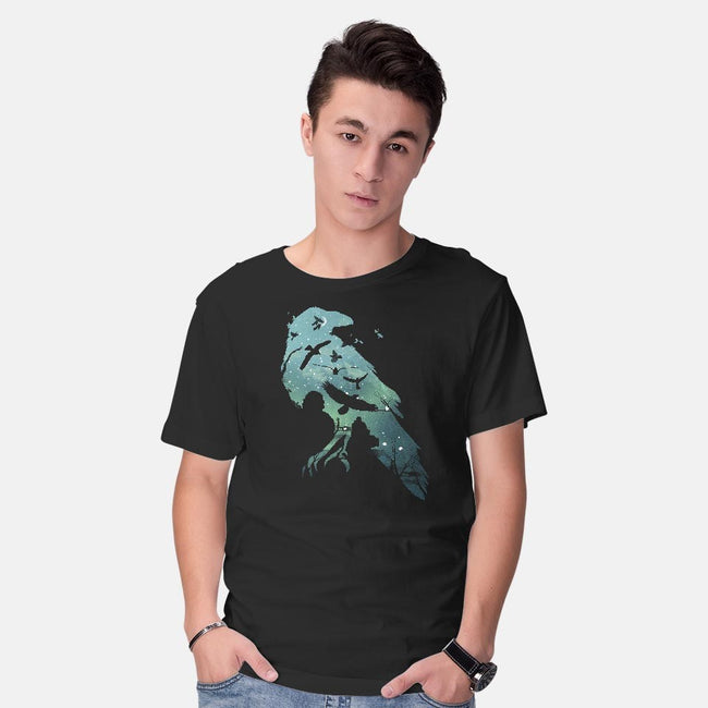Murder of Crows-mens basic tee-dandingeroz