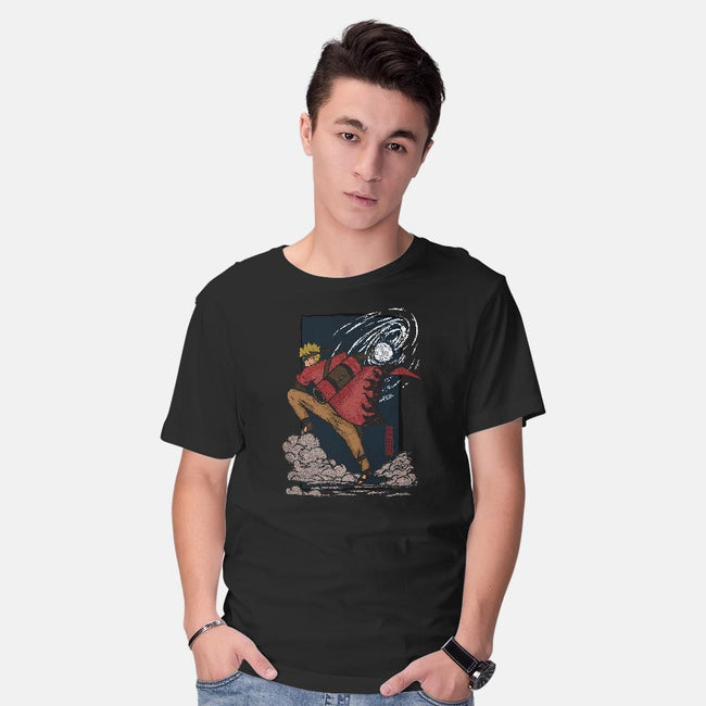 Hero of the Leaf-mens basic tee-fanfreak1