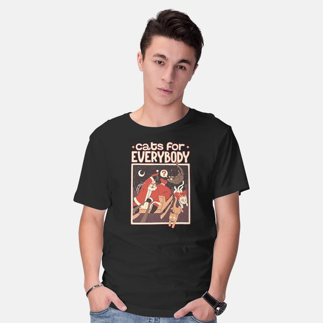 Cats For Everybody-mens basic tee-tobefonseca