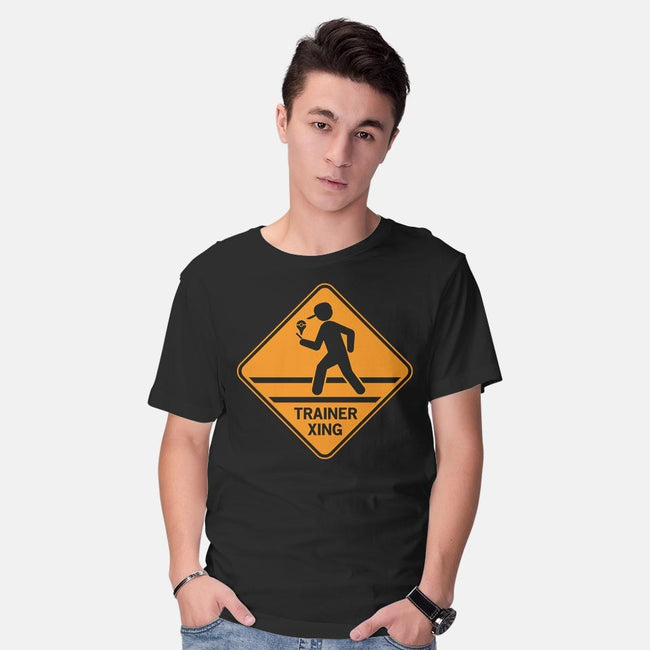 Trainer Xing-mens basic tee-famousafterdeath