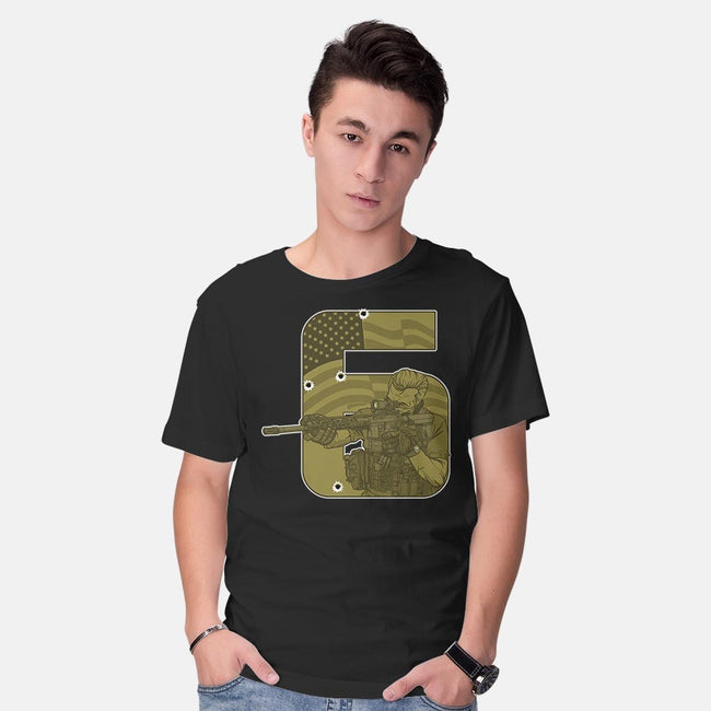 SIX-mens basic tee-AndreusD
