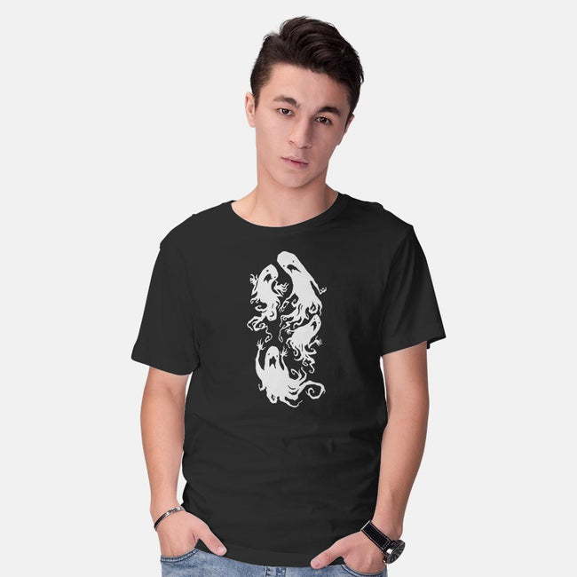 Ghosts-mens basic tee-Abigail Larson