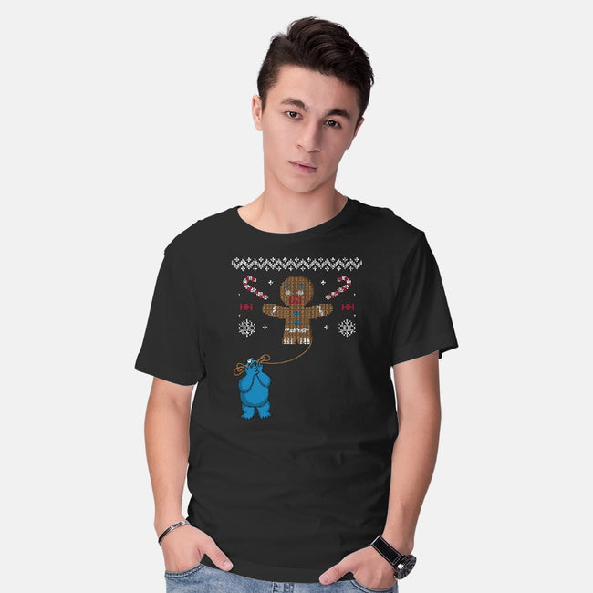Ugly Cookie!-mens basic tee-Raffiti