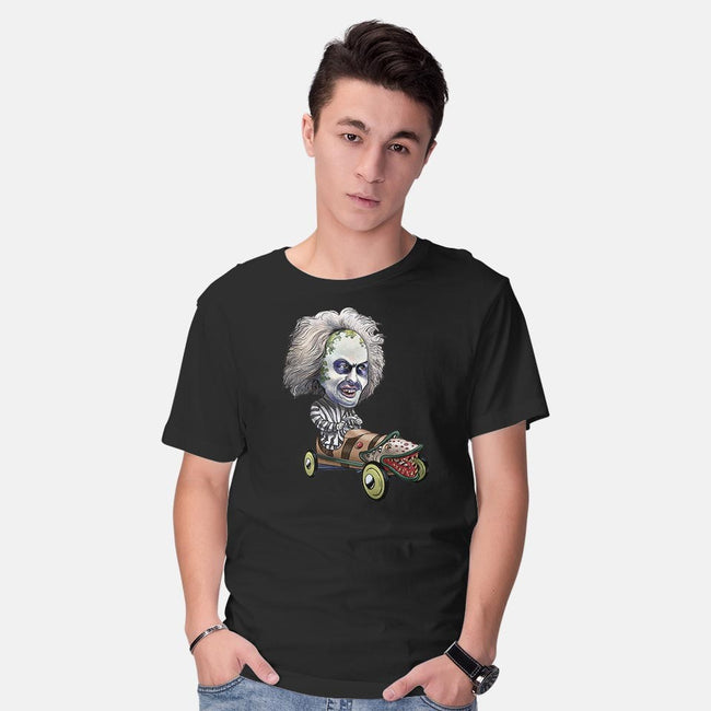 The Ghost With The Most-mens basic tee-ChetArt