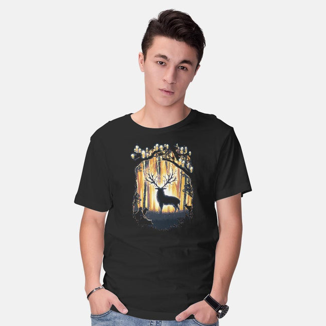 Dear God Please Save Our Forest-mens basic tee-biggers
