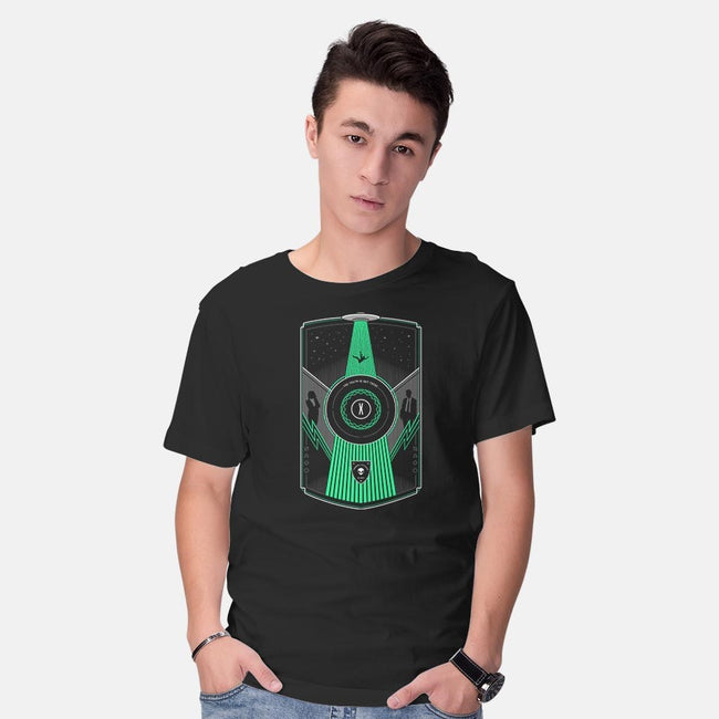 Paranormal Investigation-mens basic tee-Gamma-Ray