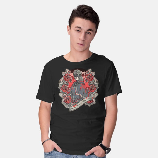 Welcome Home, Ashen One-mens basic tee-AutoSave