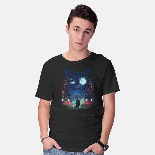 Tears In The Rain-mens basic tee-dandingeroz
