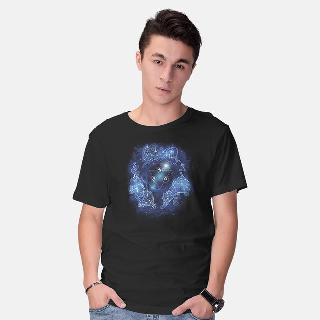 Legendary Dogs of the Stars-mens basic tee-ChocolateRaisinFury