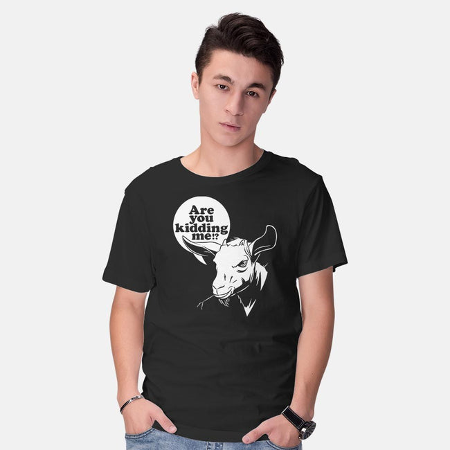 Got Your Goat!-mens basic tee-midgerock