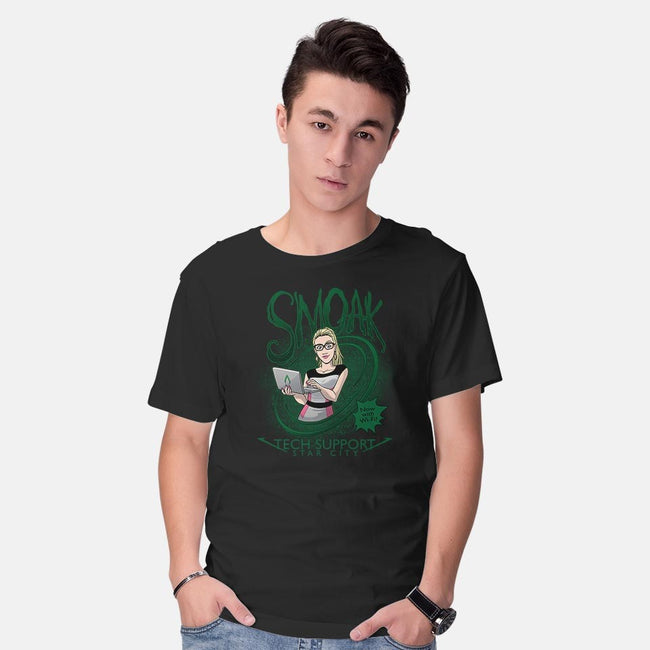 Smoak IT-mens basic tee-DoOomcat