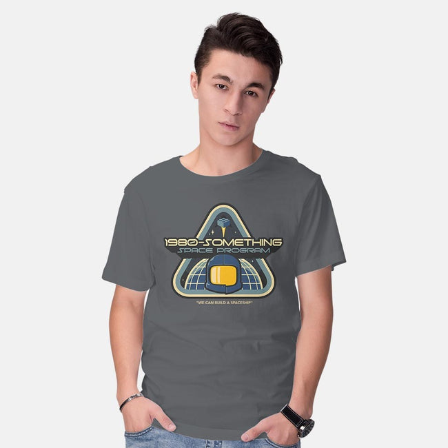 SPACESHIP!-mens basic tee-chocopants