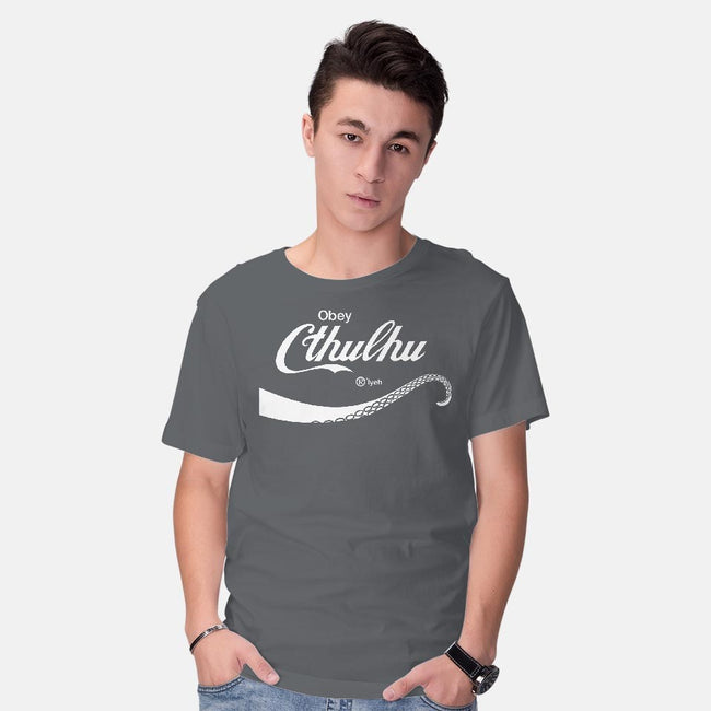 Obey Cthulhu-mens basic tee-cepheart