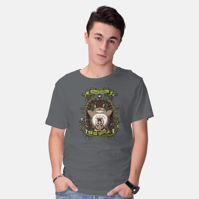 Guardians of Nature-mens basic tee-ducfrench