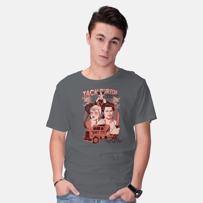 The Temple of Lo Pan-mens basic tee-ursulalopez