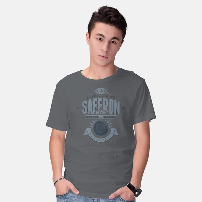 Saffron Gym-mens basic tee-Azafran