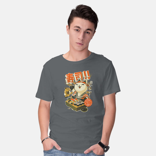 Sushi Chef-mens basic tee-BlancaVidal