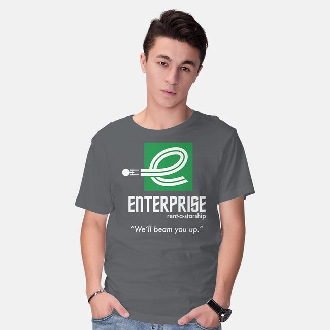 Enterprise Rent-A-Starship-mens basic tee-NomadSlim