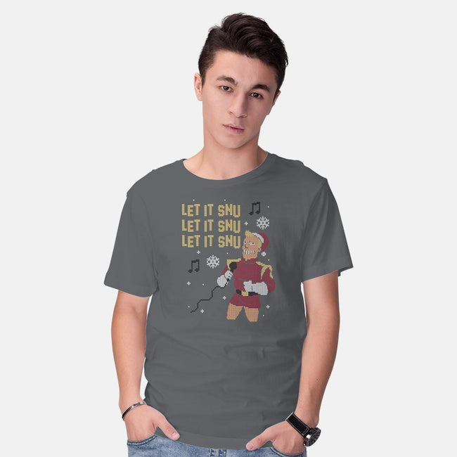 Let It Snu!-mens basic tee-Raffiti