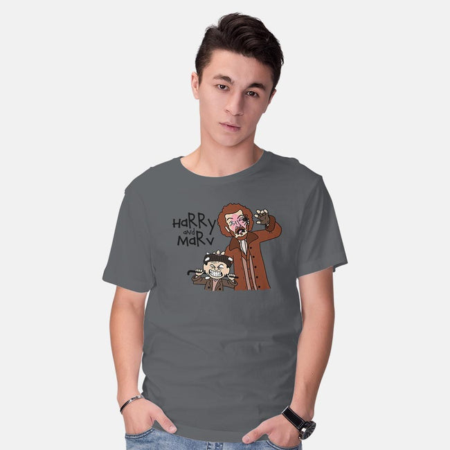 Harry and Marv!-mens basic tee-Raffiti