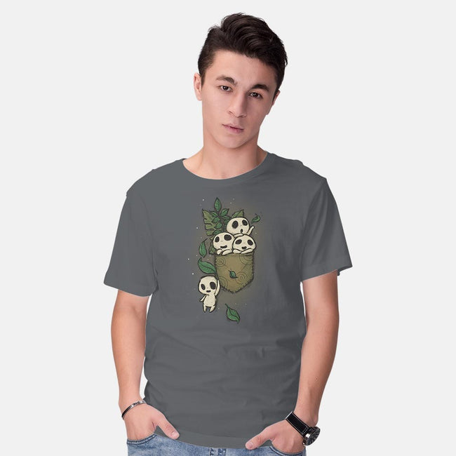 Kodama Pocket-mens basic tee-xMorfina