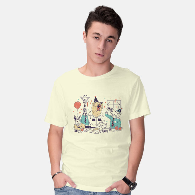 Party Animals-mens basic tee-vp021