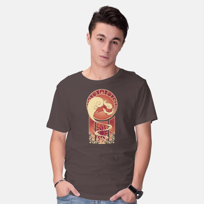 The Art of Fire-mens basic tee-ChocolateRaisinFury