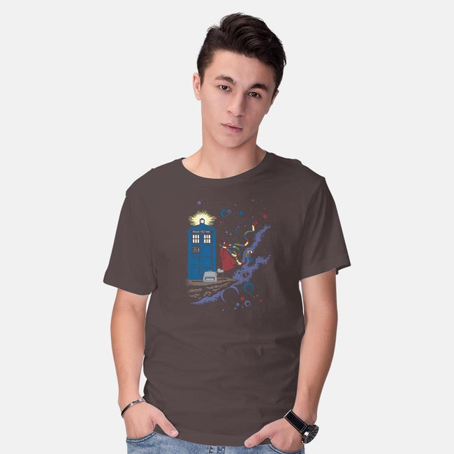 Who's Space-mens basic tee-kal5000