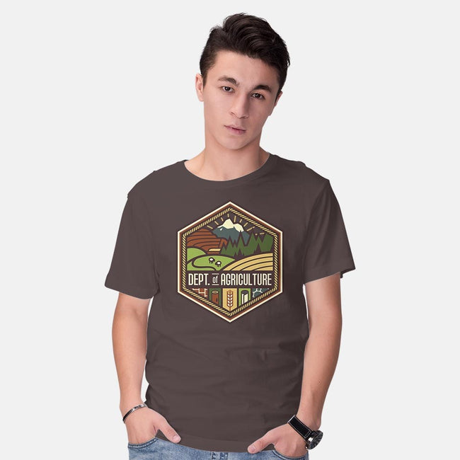 Settlements Welcome-mens basic tee-chocopants