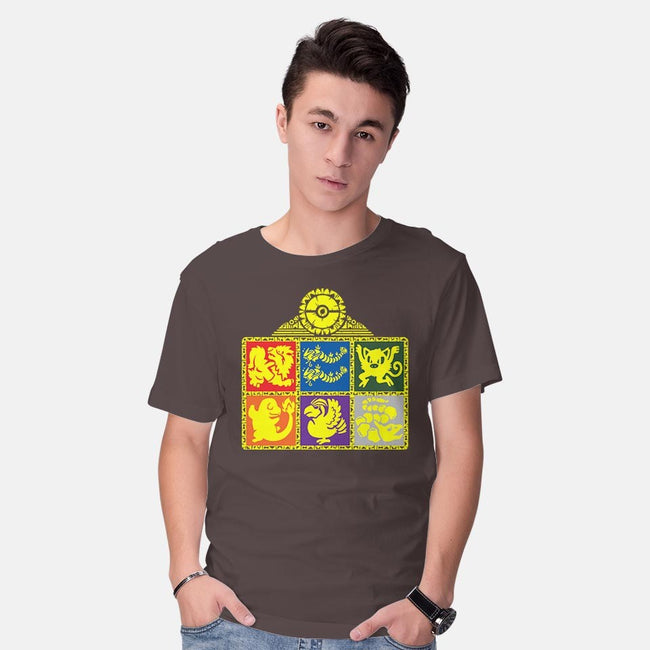 Legends of the Hidden Monsters-mens basic tee-KatHaynes