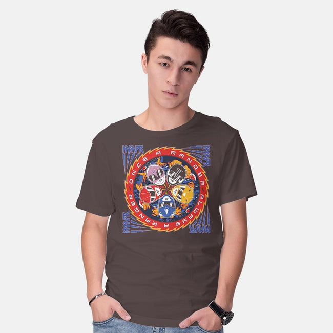 Ranger and Roll Over-mens basic tee-Arinesart
