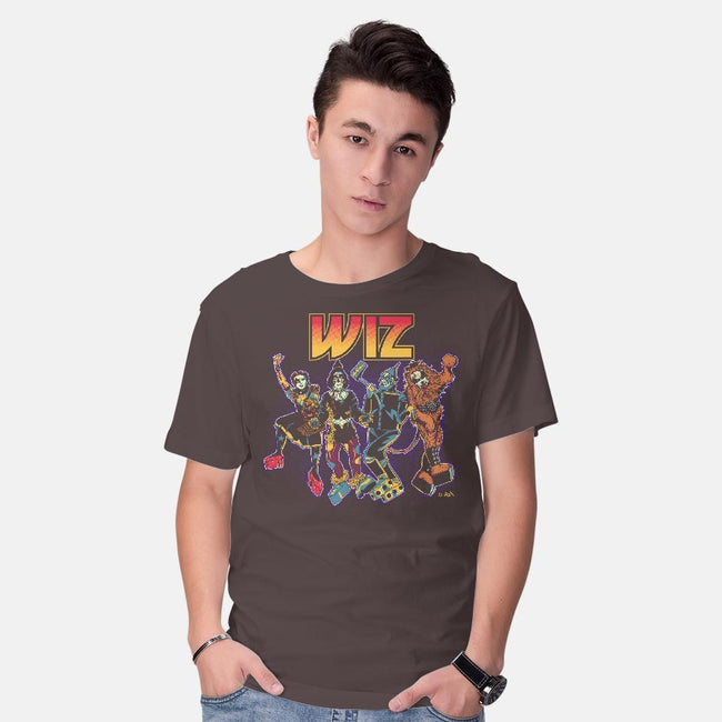 Off To Rock the Wiz-mens basic tee-DonovanAlex