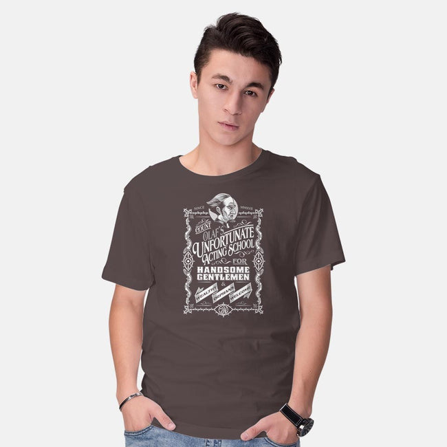 An Unfortunate Actor-mens basic tee-Nemons