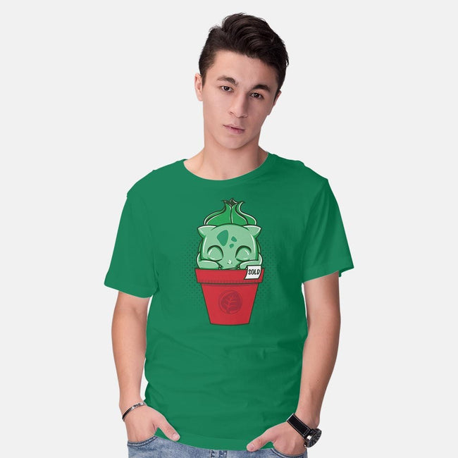 PokePlant-mens basic tee-Donnie