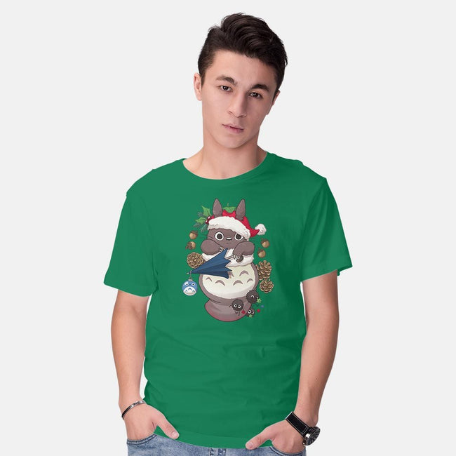 Spirited Stocking Stuffer-mens basic tee-DoOomcat