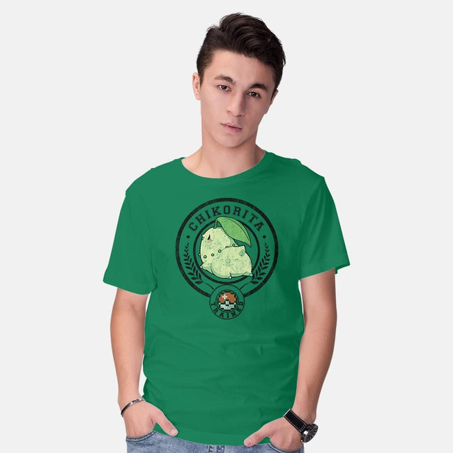 Leaf Trained-mens basic tee-Huino