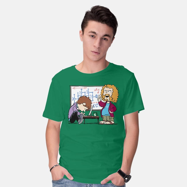 Pied Pipers Peanuts-mens basic tee-DJKopet
