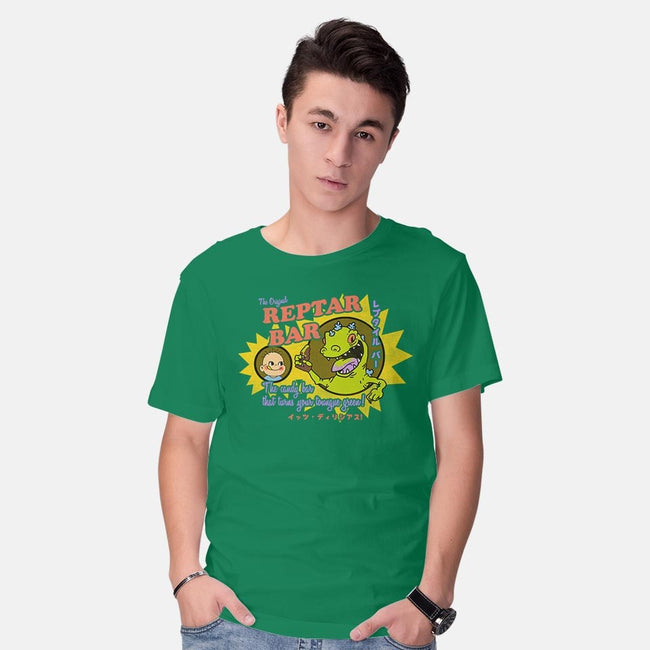 Reptar Bar-mens basic tee-Beware_1984