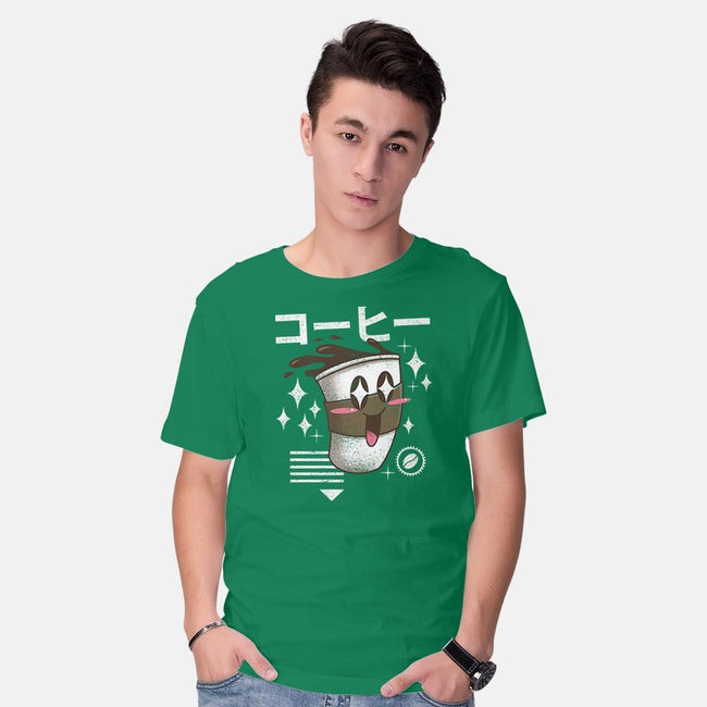 Kawaii Coffee-mens basic tee-vp021