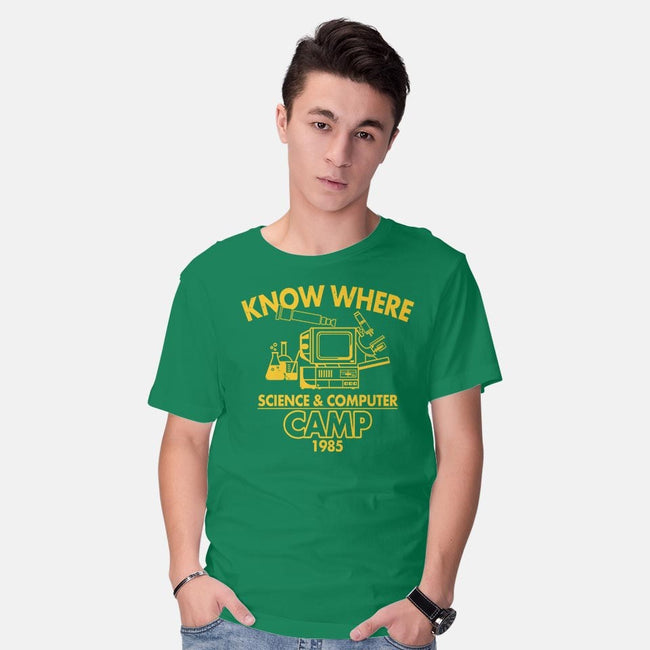 Know Where Camp-mens basic tee-Boggs Nicolas