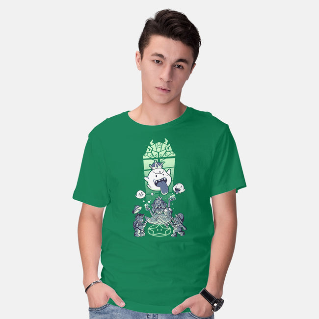 Inboocation-mens basic tee-theteenosaur