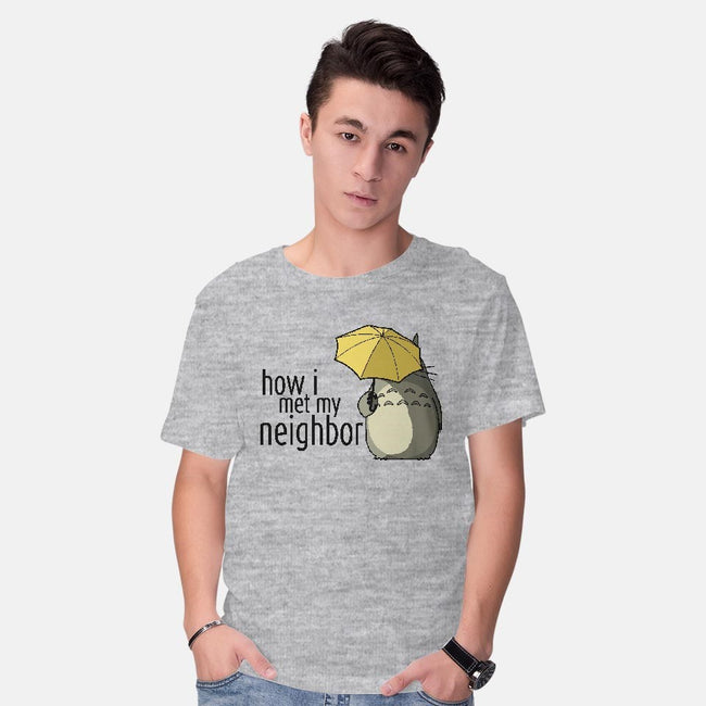 How I Met My Neighbor-mens basic tee-beware1984