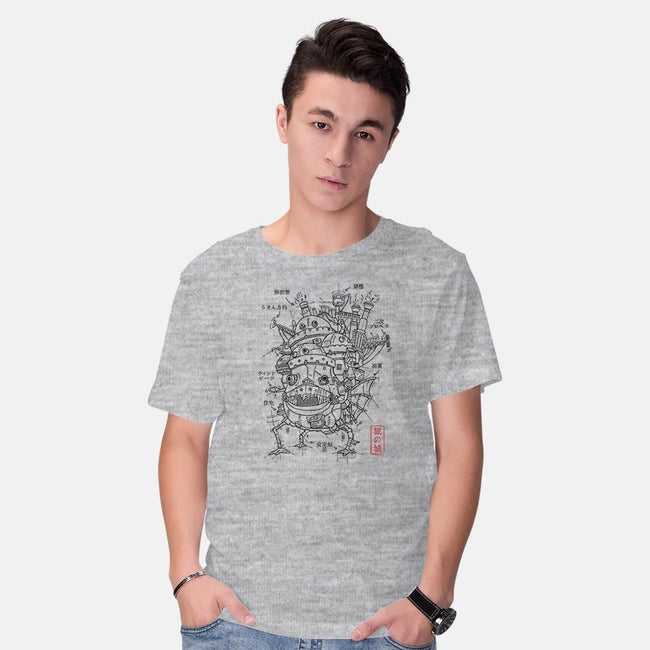 Castle Project-mens basic tee-ducfrench