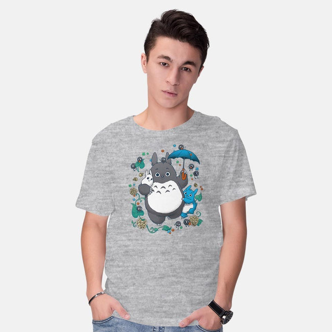 Totofloat-mens basic tee-DoOomcat