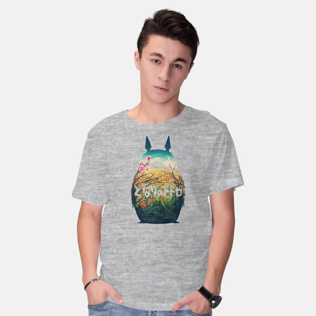 Forest Dream-mens basic tee-victorsbeard