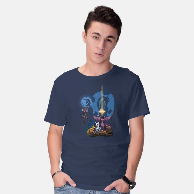 That's No Luna-mens basic tee-Chriswithata