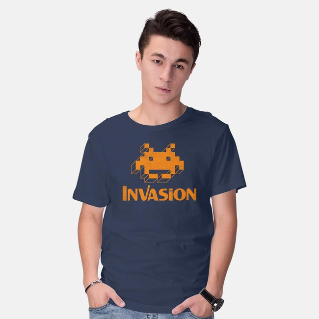 Invasion-mens basic tee-Nemons