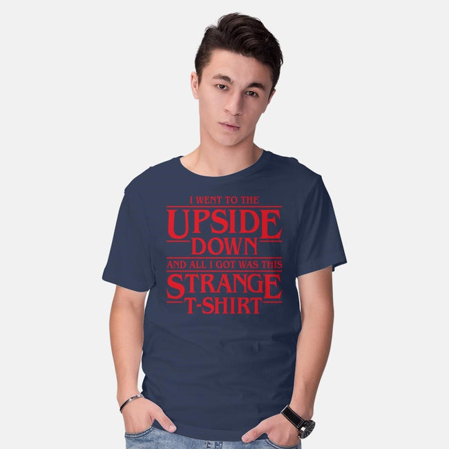 I Went to the Upside Down-mens basic tee-Olipop