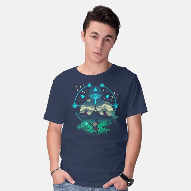 Wild Adventurer-mens basic tee-vp021