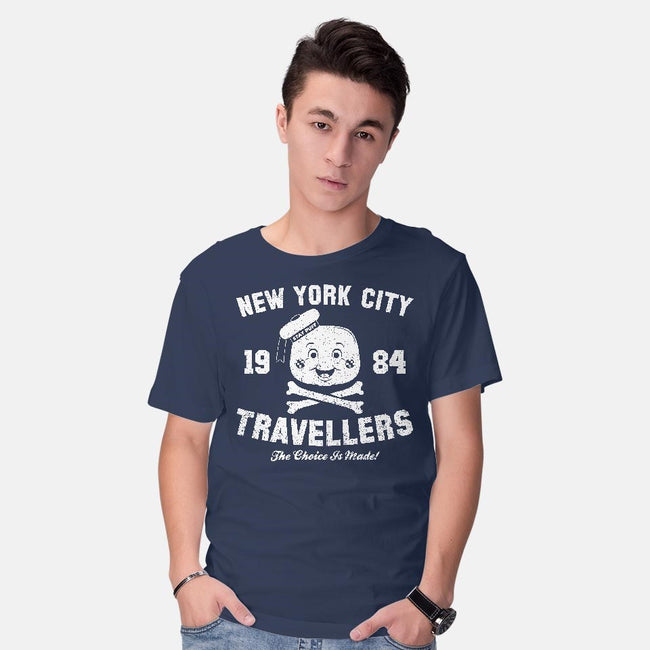 NYC Travelers-mens basic tee-RBucchioni